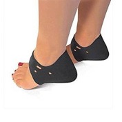 Plantar Fasciitis Foot Arch Heel Support - Pain Relief for Heel Bone Spurs, Achilles Tendonitis, Heel Pain, Heel Bursitis, Tarsal Tunnel Syndrome and Chronic Inflammation of the Heel Pad