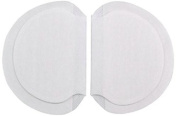 Underarm Perspiration Shield Disposable Absorbent Pads (1 Pair, Wide) - Invisible Protection Against Armpit Sweat Stains