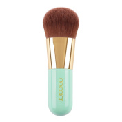 Docolor Portable Cosmetic Brush Foundation Brush Face Kabuki Brush Makeup Tool - Green