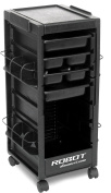 R1 CLASSIC GROOMING TROLLEY ROLLING CART BLACK