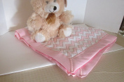 BABY BLANKET AND TEDDY BEAR