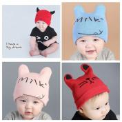 Alinshi Infant Kids Soft Cute Lovely Knit Hat Beanies Cap