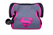 KidsEmbrace WB Belt Positioning Backless Booster Car Seat, Supergirl Ultra