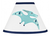 Blue and Green Modern Dinosaur Boy or Girl Baby Childrens Lamp Shade