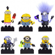 Mega Bloks Despicable Me Buildable Minions Series I Toy Figure Blind Pack – Styles May Vary