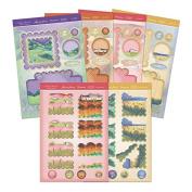 Golden Meadows Acetate Diarama Cards - Hunkydory Crafts