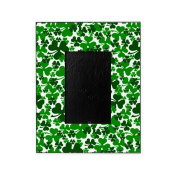 CafePress - Shamrocks - Decorative 8x10 Picture Frame
