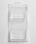4 Cavity Rectangle Soap/Bath Bomb Mould Mould A16 by World Of Moulds