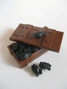 Custom Brickforge Grenade Crate for Lego Minifigures -WW2 Soldiers- 10 Grenades + Crate