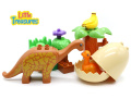 Brontosaurus New Born Baby Building Blocks Toy Set – The Parts Are Compatible with Duplo Building Bricks Playsets