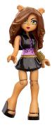 Mega Bloks Monster High Clawdeen Wolf Toy Figure
