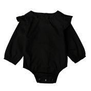EITC Baby Boys Girls Long Sleeves Bodysuit Solid Romper Jumpsuit Clothes Outfits