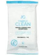 System JO Personal Cleansing Wipes, Extra Clean, 12 Count