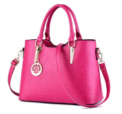Flada Luxury PU Leather Totes Bags For Women Handbags Shoulder Bags