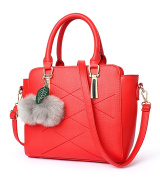 Flada Girls Lovely Handbags PU Leather Tote Bags For Women Shoulder Bags