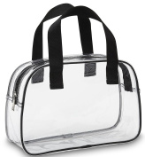 BAM Bags Stadium Approved Clear Bag Tote Handbag Messenger Bag