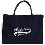 26th Birthday Gift Awesome Since 1991 - Tote Bag