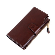 HLDIY Eight Colours Available Women's Charming Long Leather Wallet
