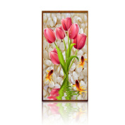 Mingo 5D DIY Diamond Painting Of Tulip Flower Crystals Embroidery Needlework Cross Stitch For Wall Home Deor