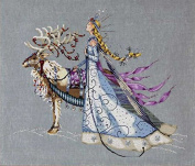 Mirabilia Counted Cross Stitch Chart Pattern 46cm x 15 ~ THE SNOW QUEEN #143