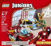 Juniors LEGO 66 PCS Iron Man vs. Loki Bike Box Building Toys
