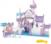 BRICTEK Imagine Swan Castle Building Blocks Set 361pcs  .  s) with Brick Remover
