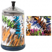 Salon Skins Decorative Barbicide Jar Wrap Static Colour