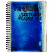 Merangue Hi-Jell Sketcher Journal with Carry All