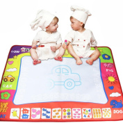 Educational Toy, ๑Robiear๑ Watercolour Doodle Children's Drawing Toys Mat Great Baby Gift (A