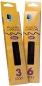 Art Alternatives - Vine & Willow Charcoal - Vine Charcoal - Extra Soft, 3/Box