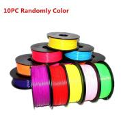 SUPPION 3D Pen Filament Refills - 1.75mm ABS Stereoscopic Print Filament Refills Modelling For 3D Drawing Printer Pen, 10PC, Colour Random
