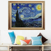 Faraway DIY Crystal Diamond Painting Van Gogh The Starry Night Rhinestone Painting