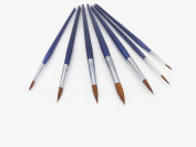 Artist Paint Brushes , horse mane and wolf hair acrylic and oil painting, watercolour paint brush, multi-style art the best brush