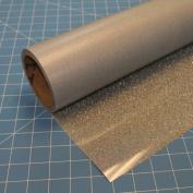 Siser Glitter Silver 50cm x 0.9m Iron on Heat Transfer Vinyl Roll