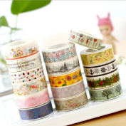 GnD Washi Masking Tape for DIY Photo Album, Scrapbook Album, Designer Arts and Crafts, Scrapbook, Diaries, School Projects, DIY and Gift Wrap