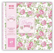 Pretty Posy Large 30cm First Edition FSC Scrapbook Window Memory Photo Album