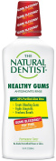 The Natural Dentist Healthy Gums Antigingivitis Mouthwash in Peppermint Twist - for when you see pink in your sink