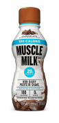 Muscle Milk 100 Calorie Protein Shake, Chocolate, 12 Count