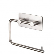 Mellewell Self Adhesive Toilet Paper Roll Holder Towel Dispenser, Stainless Steel Brushed Nickel, 02004PH