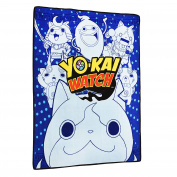 Yo-Kai Watch Multi-Character Print Micro Raschel Throw - 130cm x 150cm