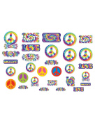 60's Retro Groovy Cutouts-30 Pack