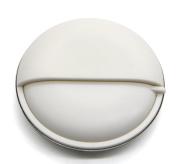 PuTwo Round Metal Pill Box Pill Case Pill Organiser Mediplanner, White, 10 Gramme
