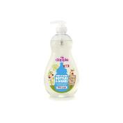 Dapple Pure 'N' Clean Baby Bottle and Dish Liquid, Mango-Melon, Clear, 500ml