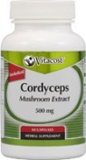 Vitacost Cordyceps Mushroom Extract - Standardised -- 500 mg - 60 Capsules