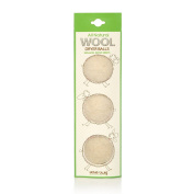 Little Twig All Natural Reuseable Wool Dryer Balls, Fragrance Free, Pack of 3