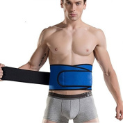 Goege men's Waist Trainer Belt - FOR Unisex Breathable Postpartum Belly Band Tummy Control Workout Fitness Back Support Waist UP TO 100cm