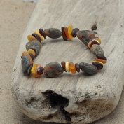 Mixed Bracelet for Women From Genuine Baltic Amber