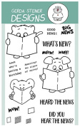 What's New. Clear Stamp Set 10cm x 15cm