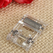 Ioffersuper Low Shank Roller Presser Foot For Singer Brother Janome JUKI Sewing Machine