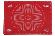 Webake 70cm x 50cm Silicone Baking Mat with Measurements Large Rolling Dough Mat